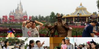 Vacation in China