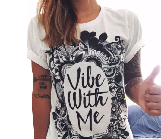 Printed T Shirts for Women's