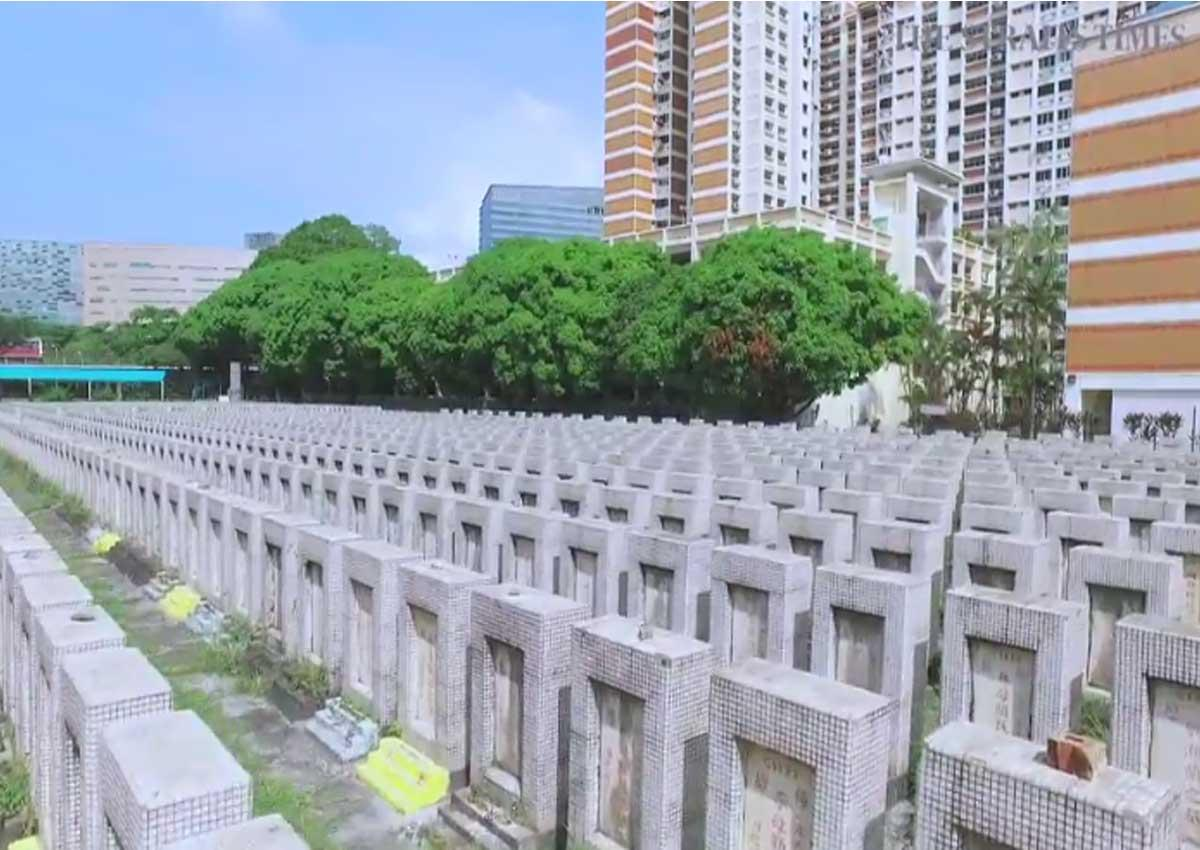 The last surviving Hakka cemetery