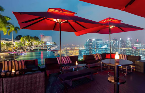 Ce La Vie at Marina Bay Sands