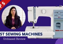 Top 5 Best Sewing Machine Brands In India 2020
