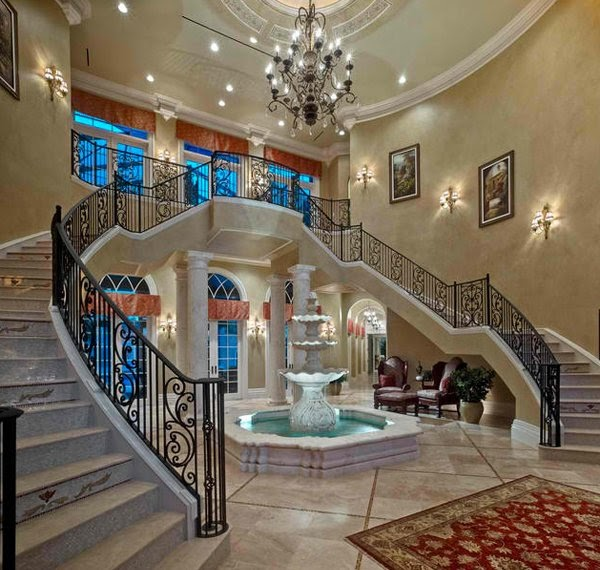 Double Staircases For Big Homes
