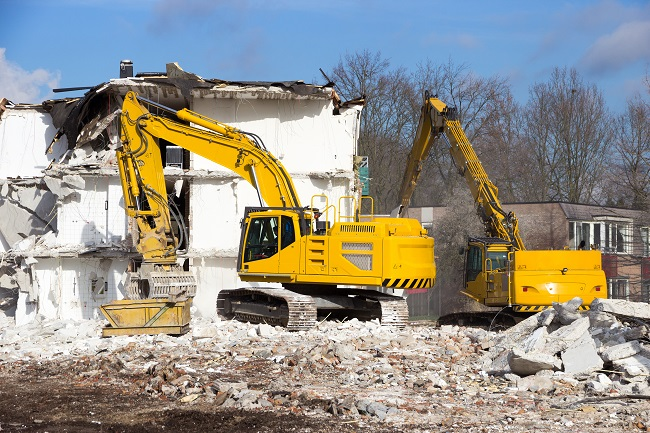 Types Of Equipment Used In Demolition