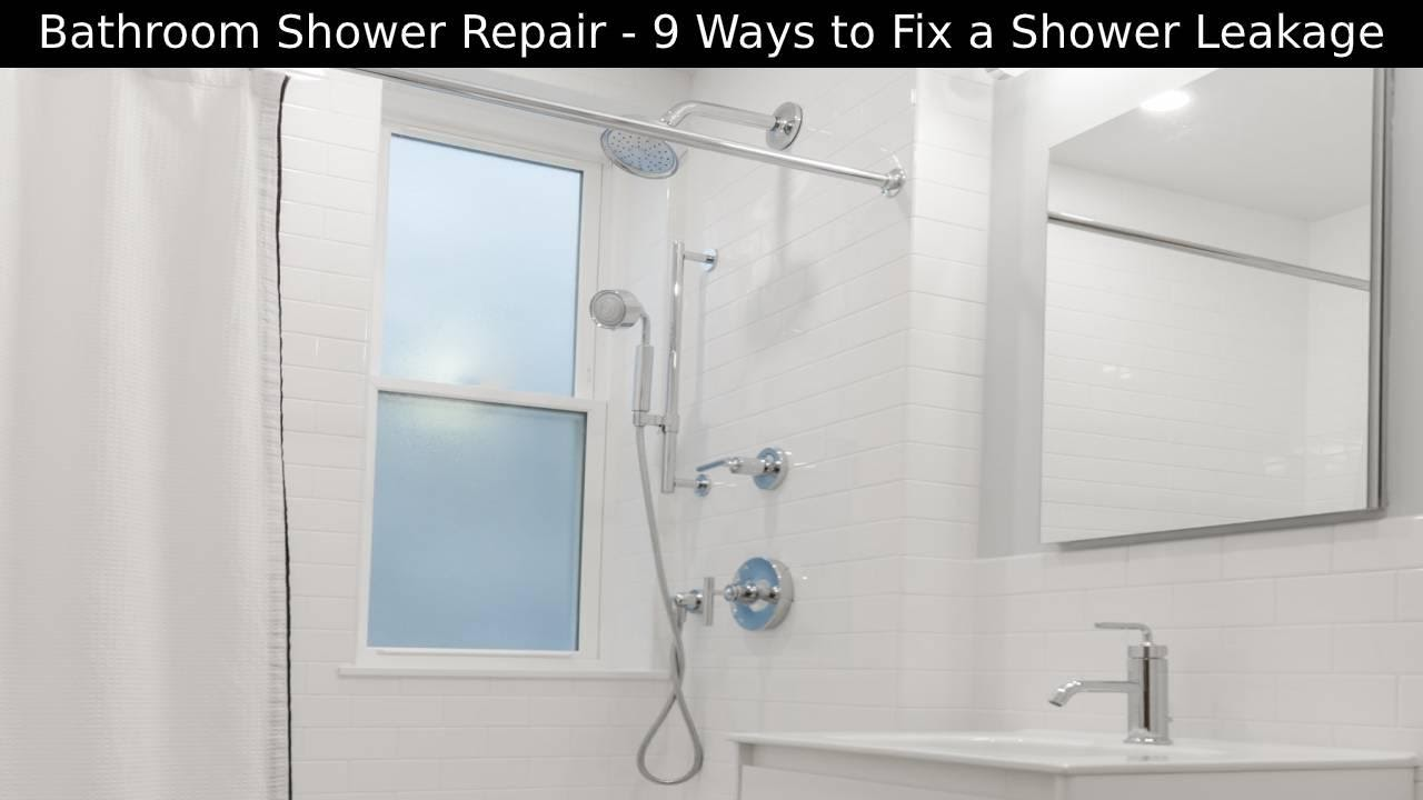 Bathroom Shower Repair
