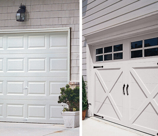 Which Door Type You Should Select for Your Newly Built Garage